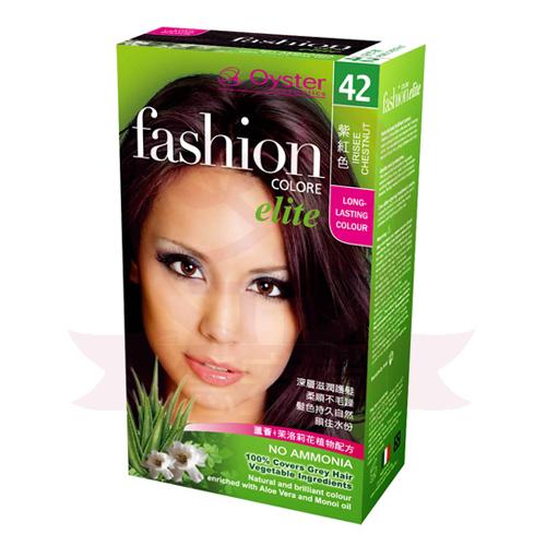 歐絲特植物性染髮劑 42號 紫紅色 Irisee Chestnut