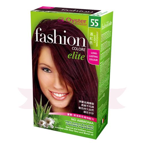 歐絲特植物性染髮劑 55號 酒紅色 Light Brown