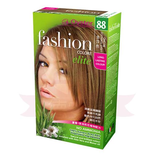 歐絲特植物性染髮劑 88號 金莎色 Light Tobacco Blond