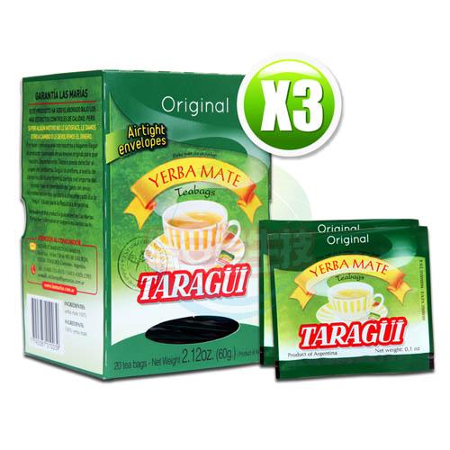 Taragui瑪黛茶20包x3