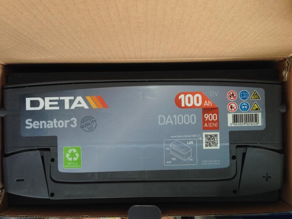 德國DETA 100安培 汽車電池