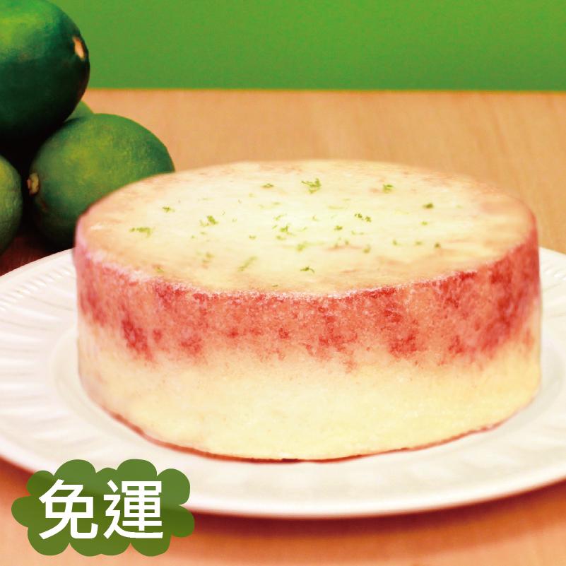 【免運】★6吋 檸檬CC糖霜蛋糕 ★ 100%檸檬原汁與鬆軟的蛋糕體結合,再淋上白色的檸檬糖霜,酸酸甜甜好滋味~~