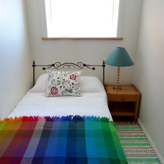 Attlee設計師-創意無痕壁貼.床頭板/床架 壁貼/單人床HDWS-03