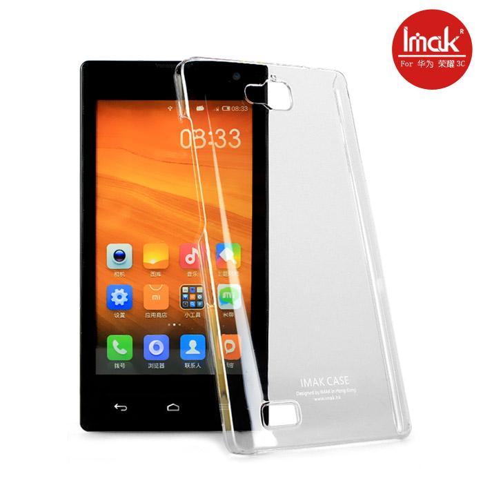 ☆華為 榮耀3C水晶殼 艾美克imak羽翼水晶殼 Huawei Honor 3C透明保護殼保護套 DIY素材殼可貼鑽 【清倉】