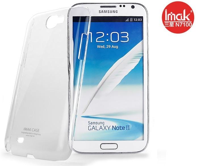 三星N7100 GALAXY Note2水晶殼 艾美克imak羽翼水晶殼 SAMSUNG N719 透明保護殼  DIY素材殼可貼鑽 【清倉】