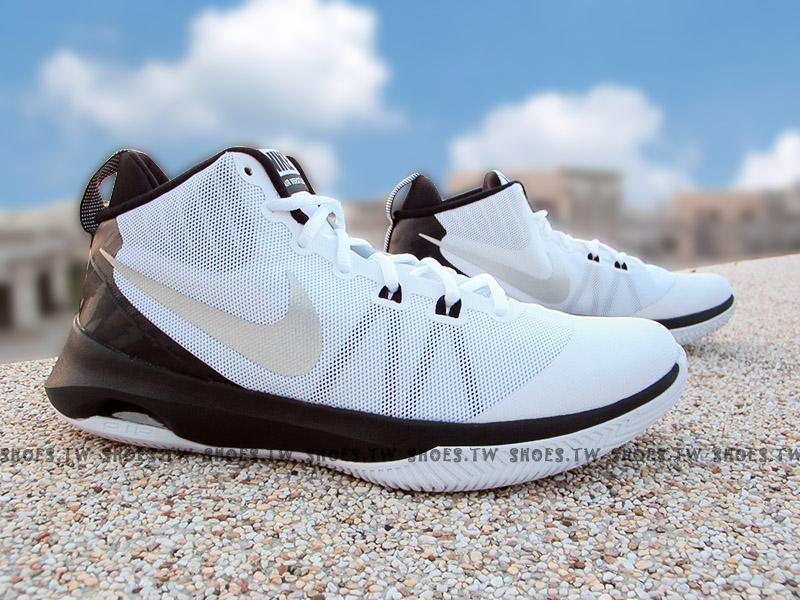 Shoestw【852431-100】NIKE AIR VERSITILE 籃球鞋 中筒 白黑