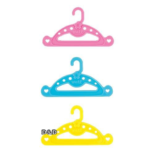 【 小美樂娃娃 】小美樂配件 - 衣架 (5入組)