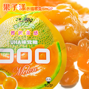 日本UHA味覺糖 Kororo 酷露露 軟糖(哈密瓜味) [JP501]