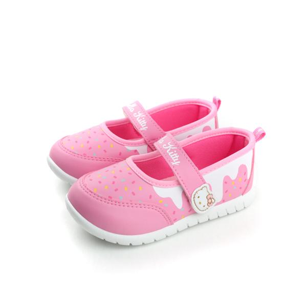Hello Kitty 凱蒂貓 布鞋 粉 小童 no683