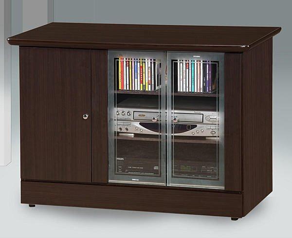 【尚品家具】628-01 胡桃3尺電視櫃矮櫃儲櫃長櫃~另有白橡柚木山毛色、2尺、4尺