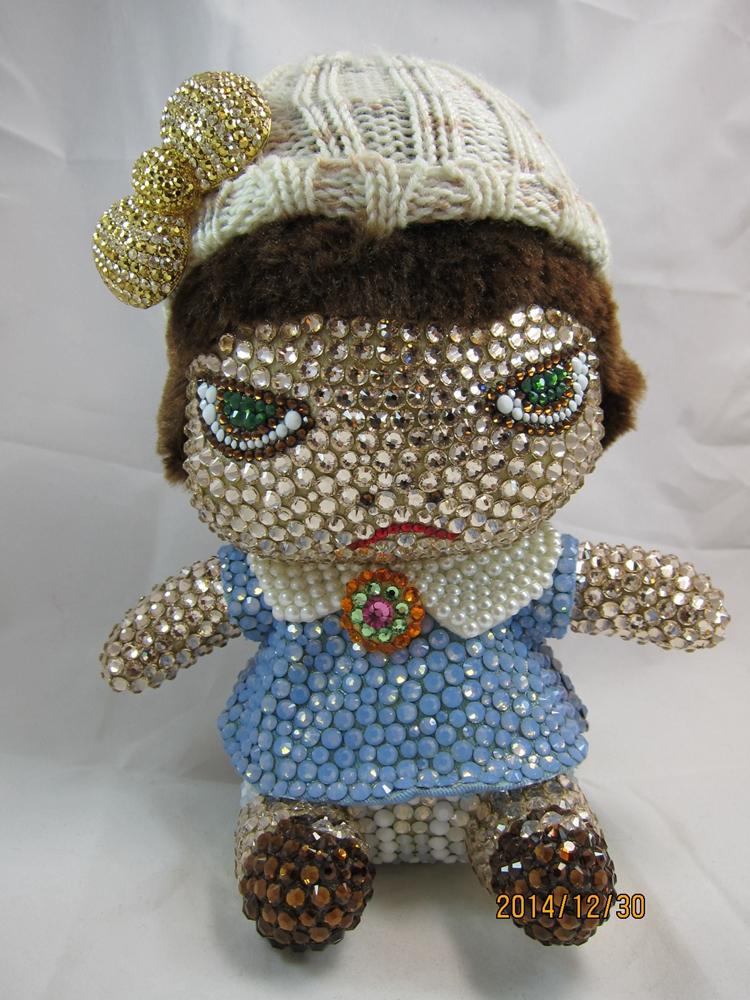 奈良美智娃娃吊飾