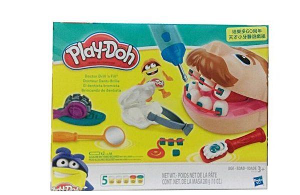 【 Play-Doh 培樂多 】新天才小牙醫(60周年紀念版)