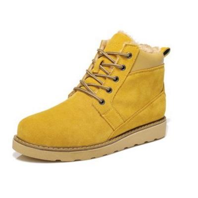 雪靴 男短筒靴-真皮牛皮防水禦寒男鞋子6色72af19【獨家進口】【米蘭精品】