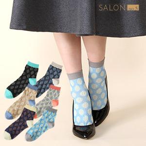 靴下屋Tabio 復古浮雕圓點短襪 / 日本襪子品牌NO.1