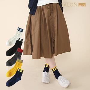 靴下屋Tabio 經典條紋運動休閒中筒襪