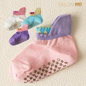 靴下屋Tabio 腳底防滑可愛童襪(單隻) 13~15cm