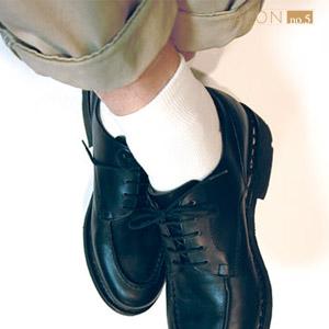 靴下屋Tabio 男款休閒棉質短筒襪