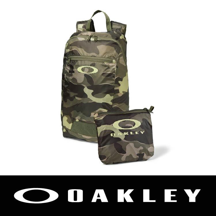 【新春滿額送後背包!只到2/28】OAKLEY SP16 PACKABLE BACKPACK OLIVE CAMOT 迷彩色 OAK-92732-799 萬特戶外運動