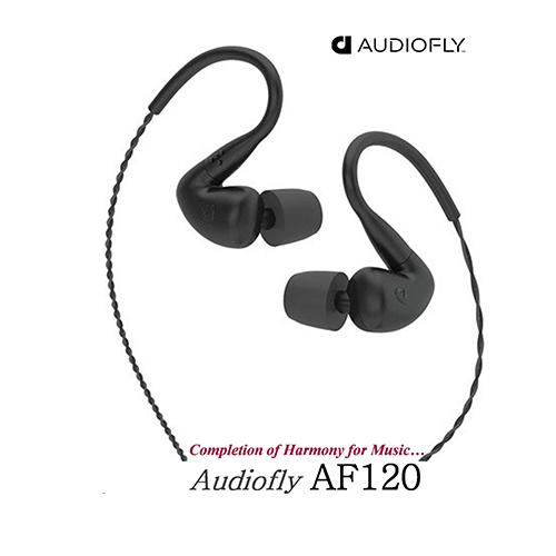Audiofly AF120 動鐵+平衡電樞雙單體 耳道式監聽耳機