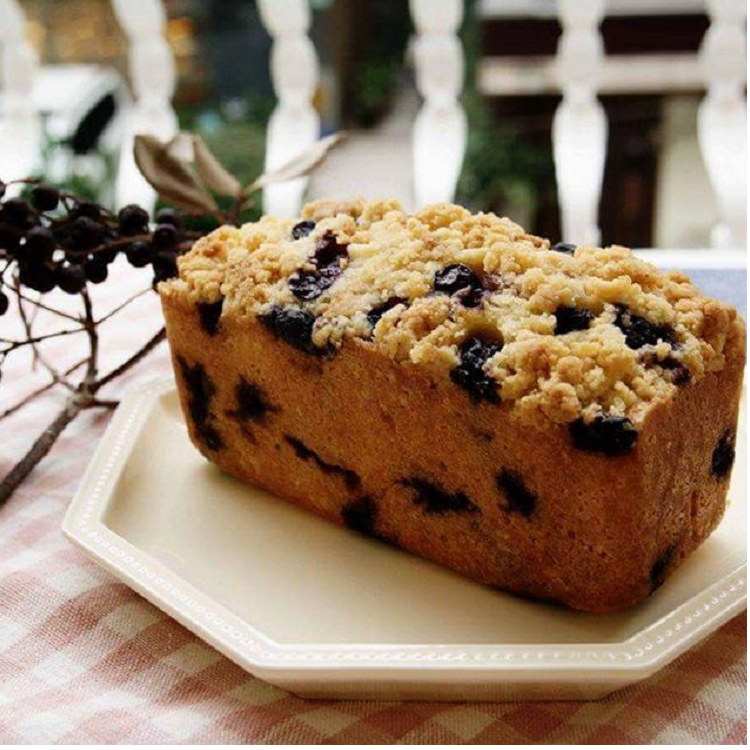 慢爐 藍莓奶酥蛋糕/新鮮藍莓/杏仁奶酥