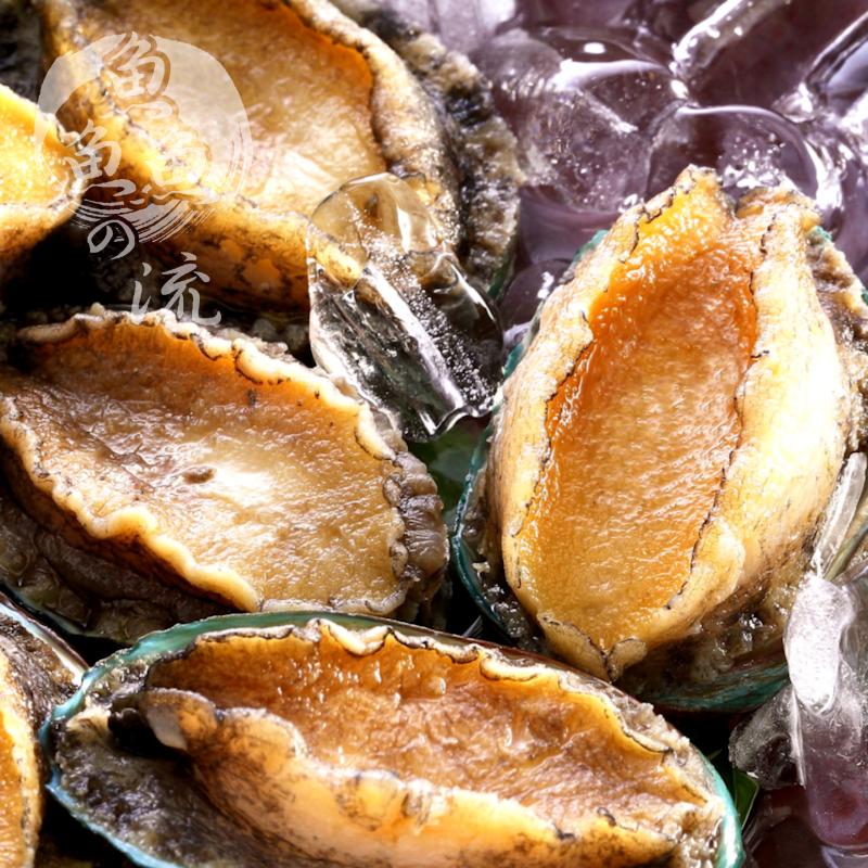 【鮮之流】北太平洋活凍半殼鮑魚, 360g/包, 5顆/包