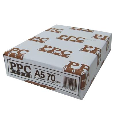 【PPC  影印紙】PPC 70P A5影印紙 (10包/箱)