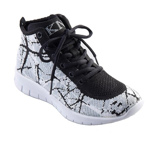 【F-KNIT時尚】4月雜誌款 潑墨 時尚編織休閒鞋