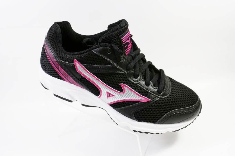[陽光樂活] MIZUNO 美津濃 MAXIMIZER 18 基本款(寬楦) 女慢跑鞋K1GA161304 黑x桃紅