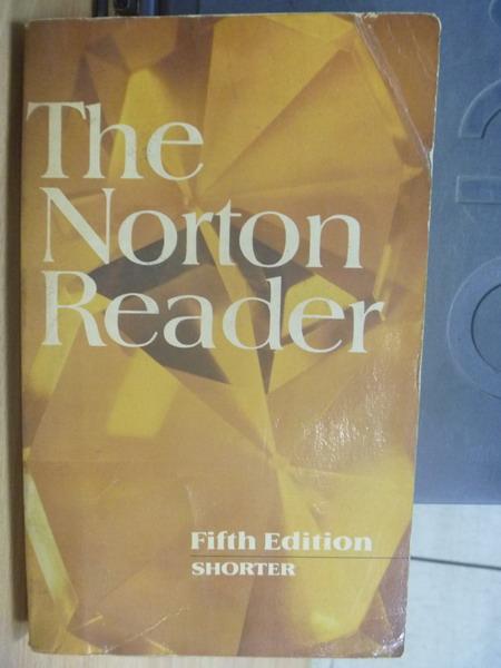 【書寶二手書T4/原文小說_MGT】The Norton Reader_5/e