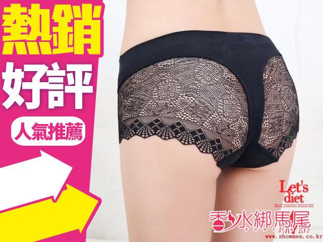 韓國 SHOWMEE LET'S DIET 銀離子殺菌冰絲內褲 1入 黑色◐香水綁馬尾◐