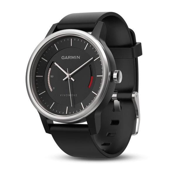 GARMIN vivomove 運動款智慧指針式腕錶 黑/白兩色款  長達一年待機時間