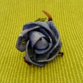 【蘿瑪樂活】手作造型擴香花-藍玫瑰-小花(直徑約3cm)