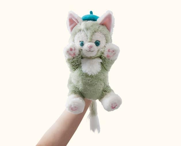 【真愛日本】16051100050經典絨毛手偶娃-傑力東尼   迪士尼專賣店限定 雪莉玫 達菲熊 畫家貓  娃娃 玩偶 正品 限量 預購