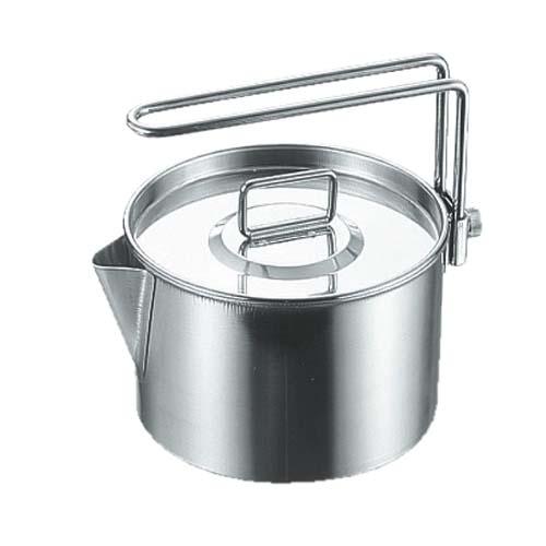 【露營趣】中和 Captain Stag 鹿牌 M-7726 不鏽鋼茶鍋具 900ml 茶壺鍋 茶壺 湯鍋 個人餐具