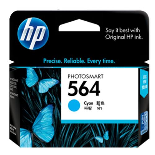 【HP 墨水匣】HP CB318WA NO.564 藍色原廠墨水匣