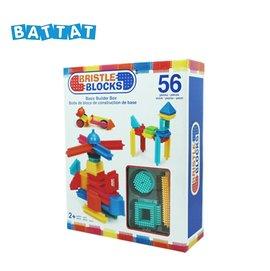 美國【B.Toys】BB鬃毛積木_Battat系列(56PCS)