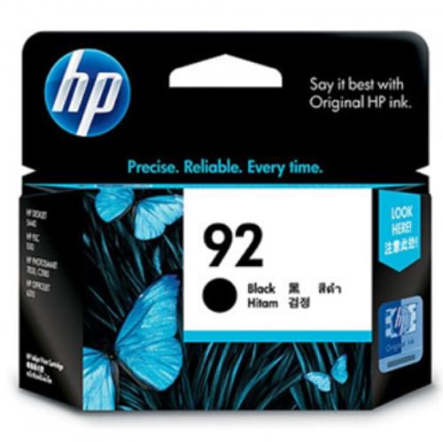 【HP 墨水匣】C9362WA NO.92 黑色原廠墨水匣