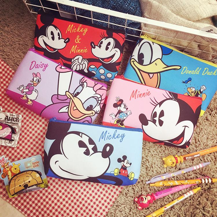 PGS7 迪士尼系列商品 - 迪士尼 壓扣 筆袋 鉛筆盒 收納包 手機套 手機包 手機袋 米奇米妮 唐老鴨