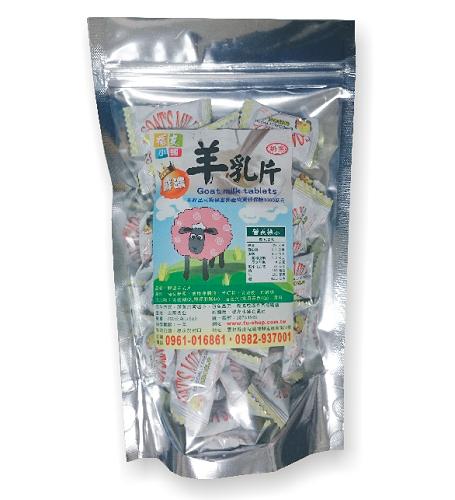 (福友小舖)-鮮濃羊乳片(原味) /5入