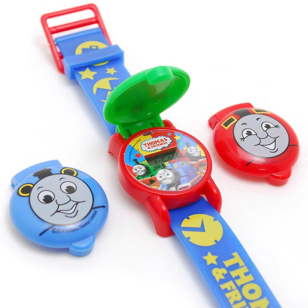 【真愛日本】15061500001 兒童電子錶-可換錶蓋藍  THOMAS & FRIENDS 湯瑪士 小火車 手錶 正品 限量 預購