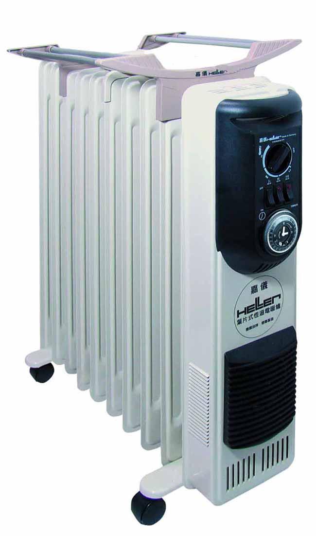 德國 HELLER 嘉儀 12葉片 恆溫葉片式電暖器 KE212TF / KE-212TF