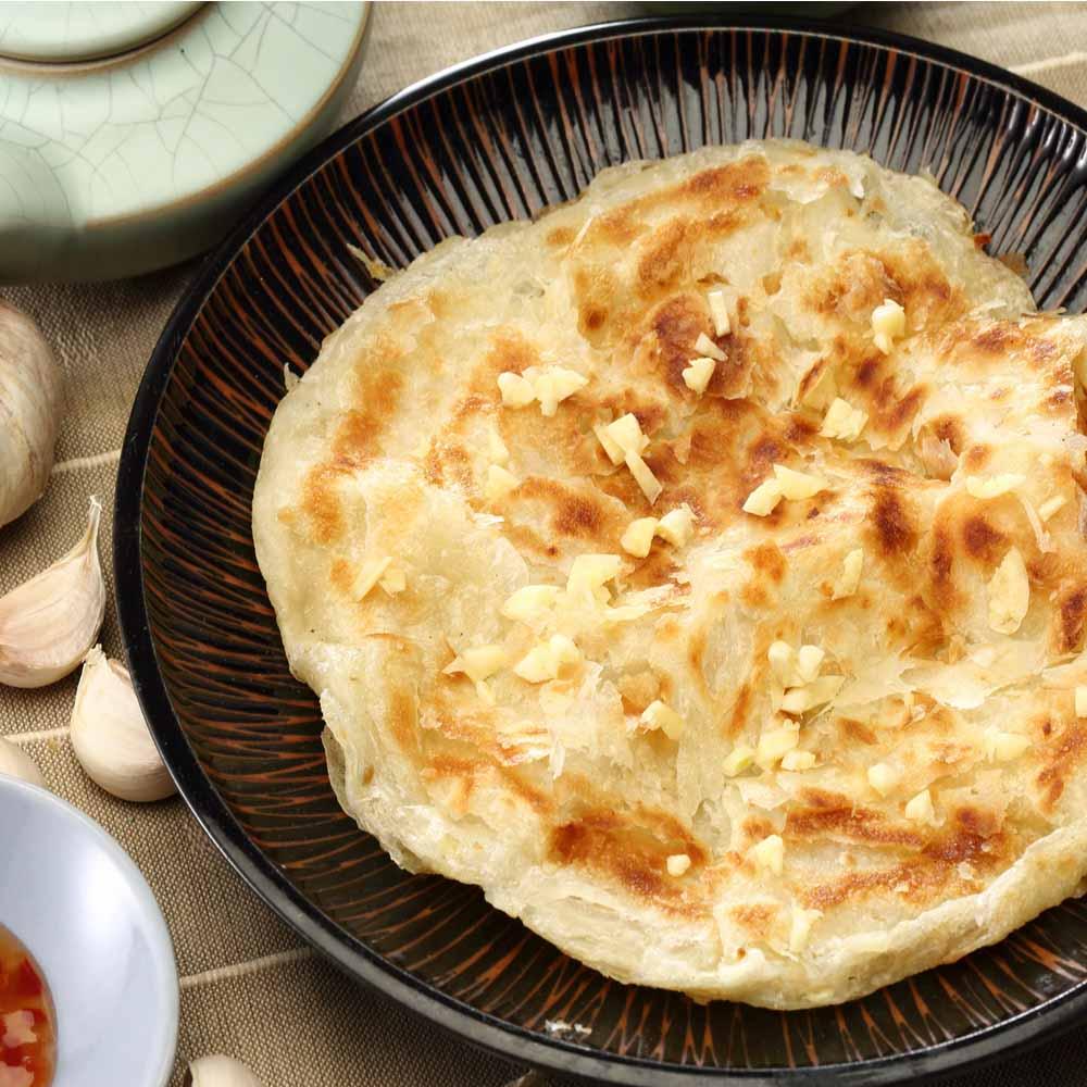 (蔥阿伯)Light植物油-香蒜抓餅(5片)*1包