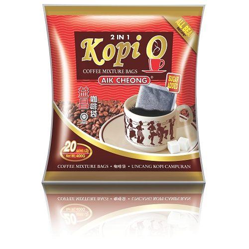 馬來西亞進口 益昌 KOPI-O 濾袋二合一黑咖啡(20gx20入,即期特賣品)