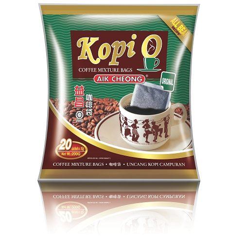 馬來西亞進口 益昌 KOPI-O 濾袋無糖黑咖啡(10gx20入,即期特賣品)