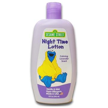 美國進口 Sesame Street 芝麻街嬰兒潤膚乳液-薫衣草 296ml