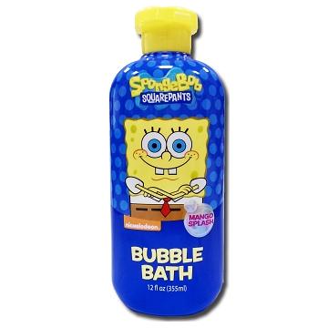 美國進口 Sponge Bob 海綿寶寶泡泡沐浴乳-夏日芒果355ml
