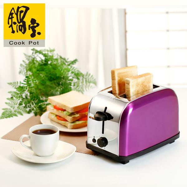 【威利家電】 【分期0利率+免運】鍋寶 不鏽鋼烤土司烤麵包機 OV-580-D