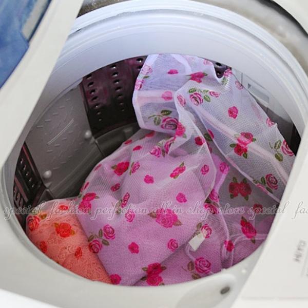 印花細網洗衣袋30x40cm 衣物洗衣袋 細孔 衣機專用洗衣網 【DX259】◎123便利屋◎