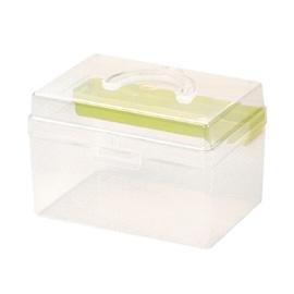 【nicegoods】童顏系列702型手提箱 (塑膠 小物收納 透明盒 樹德)