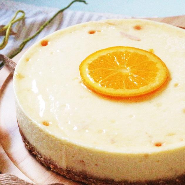 Choc For You【鮮橙重乳酪】6吋 乳酪蛋糕/起士蛋糕/下午茶點心/團購必Buy/伴手禮
